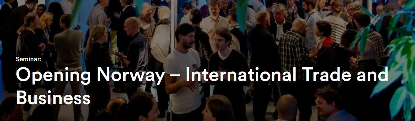 Opening Norway – International Trade and Business